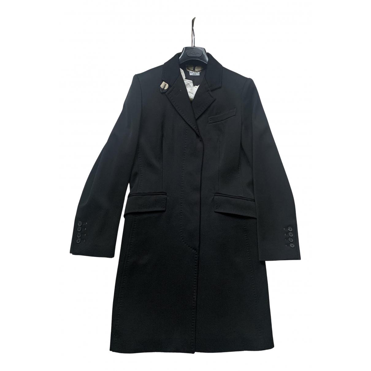 Paul Smith N Black Wool coat for Women 44 IT