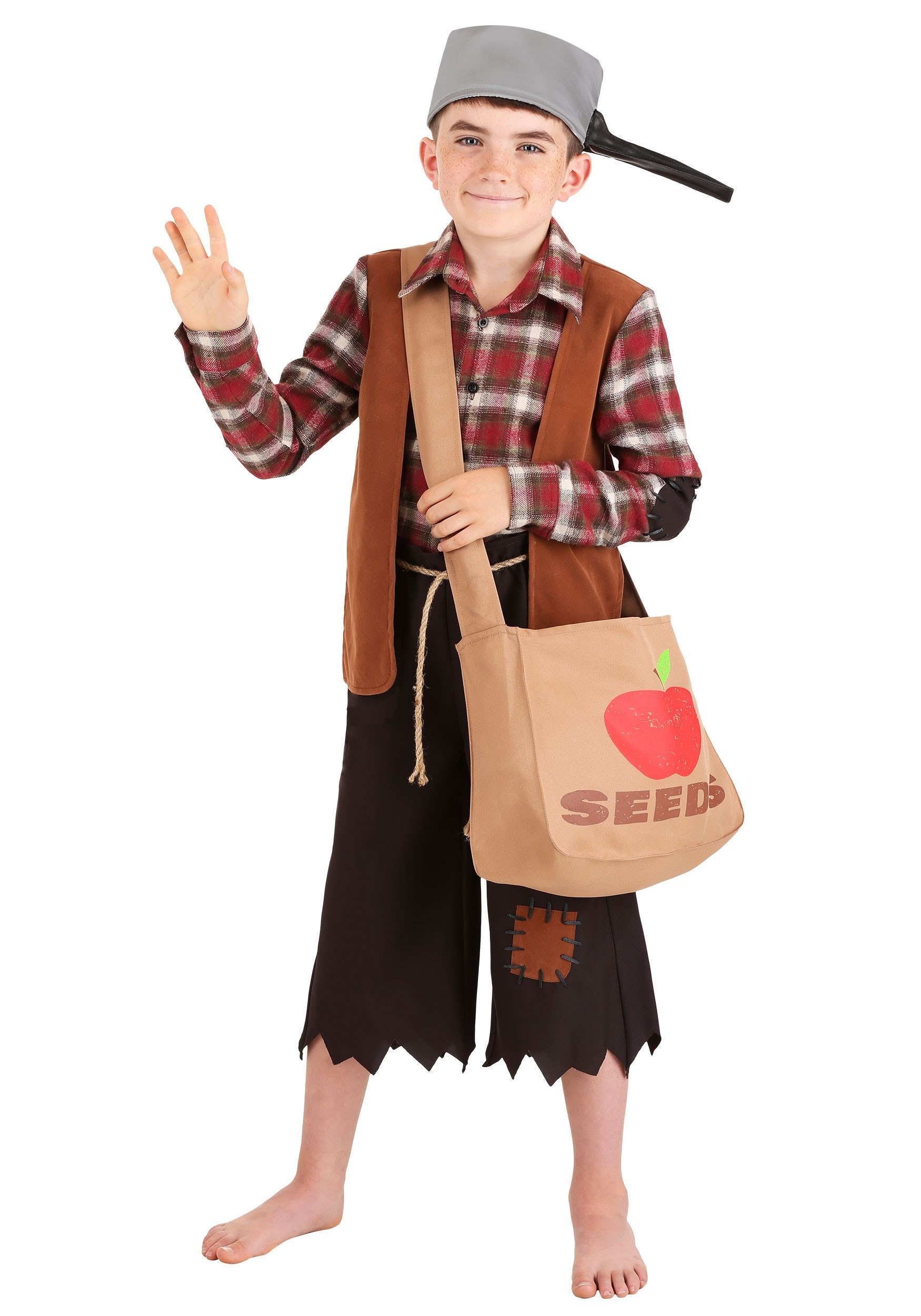 Johnny Appleseed Costume for Boys
