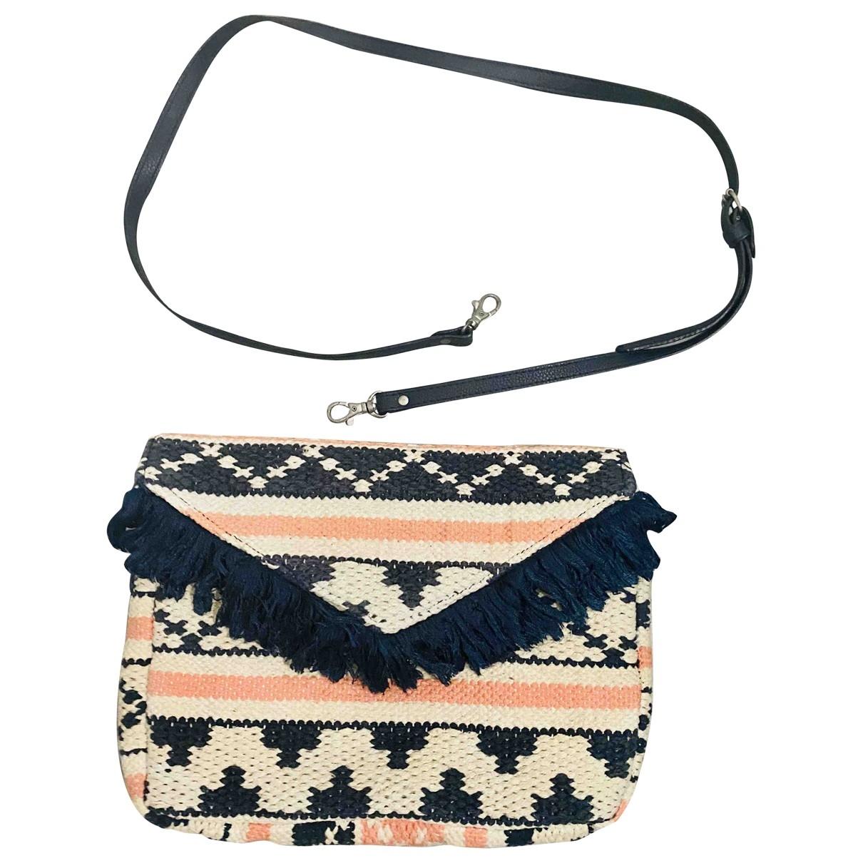 Non Signé / Unsigned \N Ecru Cotton Clutch bag for Women \N