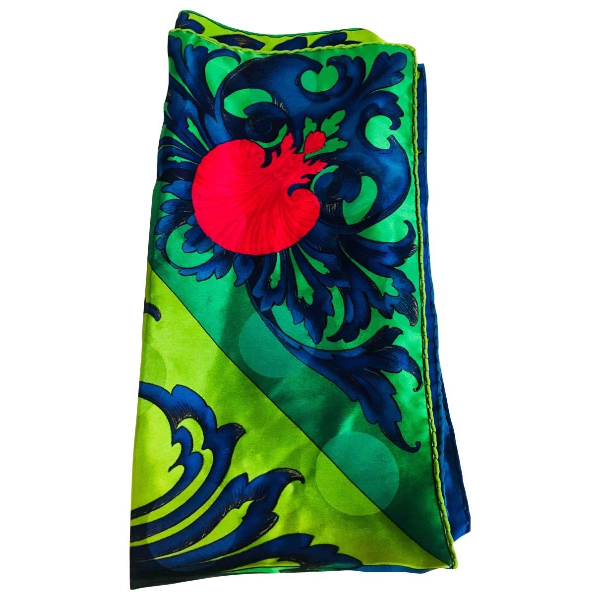 Versace \N Multicolour Silk scarf for Women \N