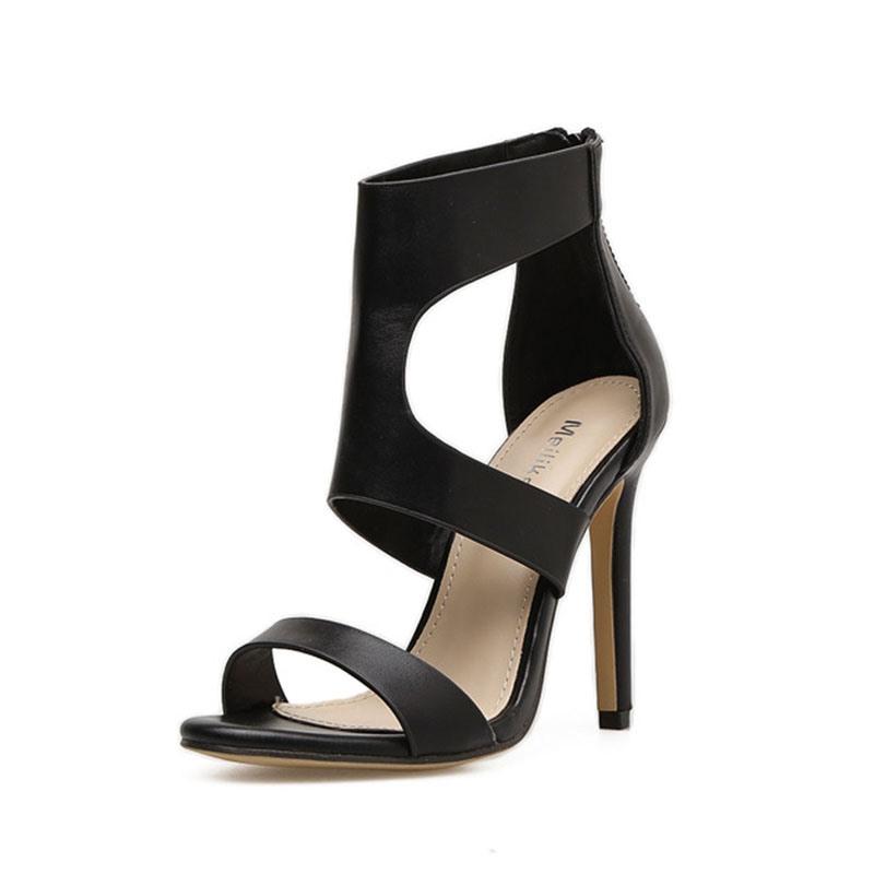 Ericdress Stiletto Heel Covering Open Toe Western Sandals