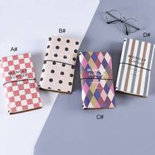 1pack Graphic Print Cover Notebook