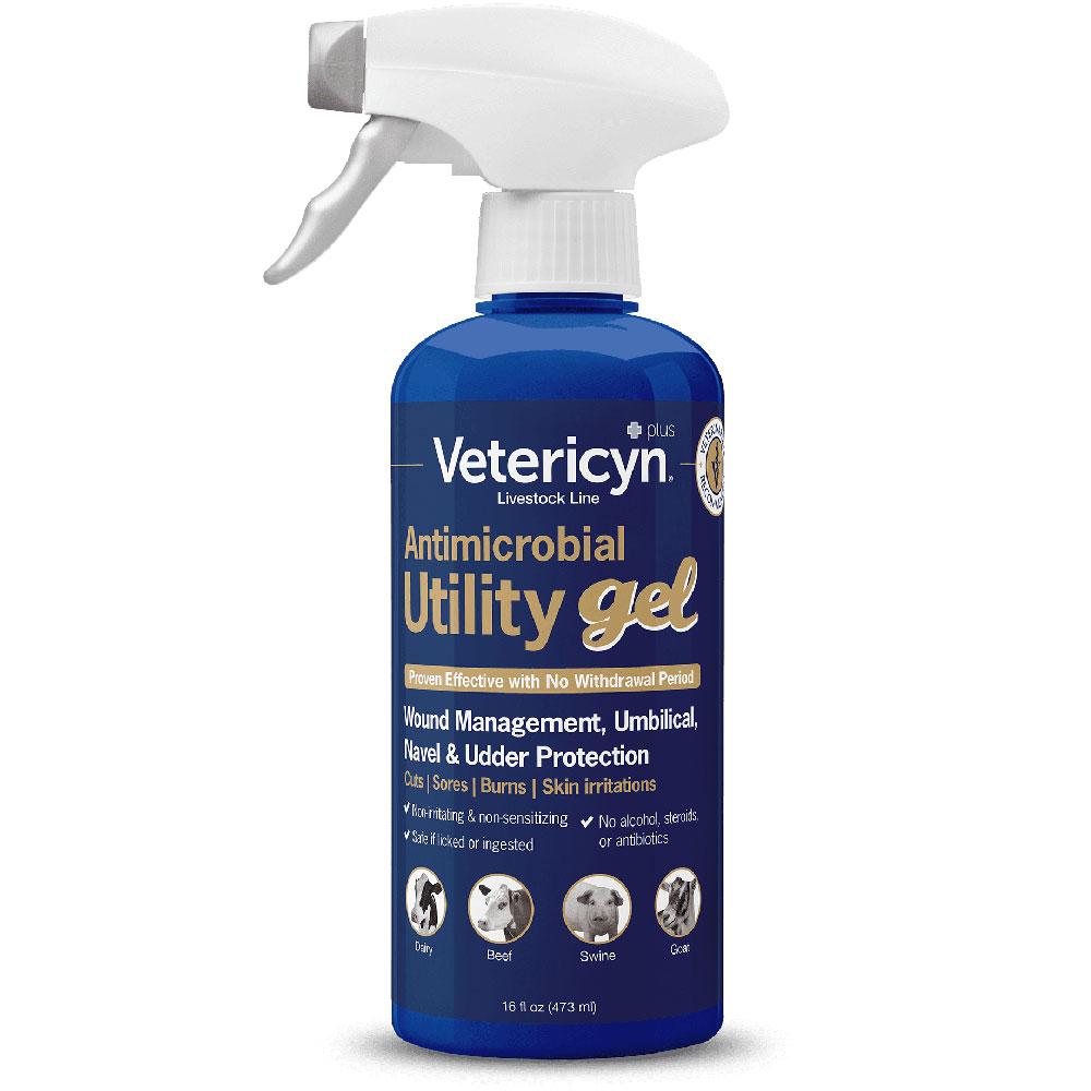 Vetericyn Plus Utility Gel (16 fl oz)