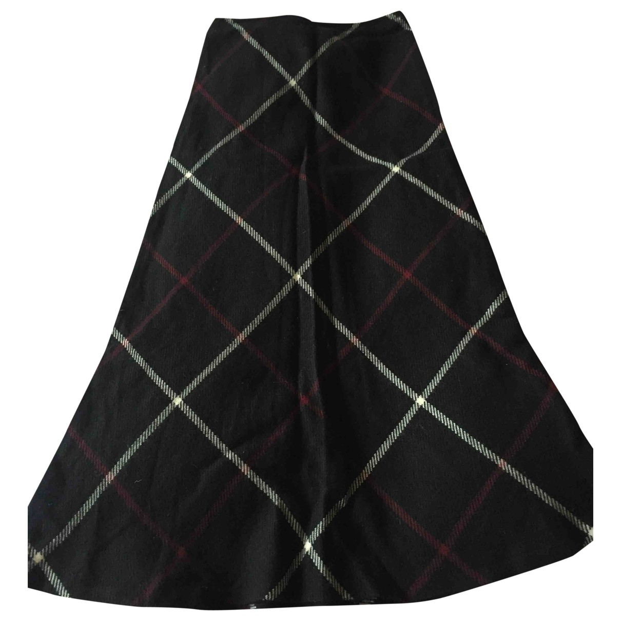 Agnès B. \N Black Wool skirt for Women 1 0-5