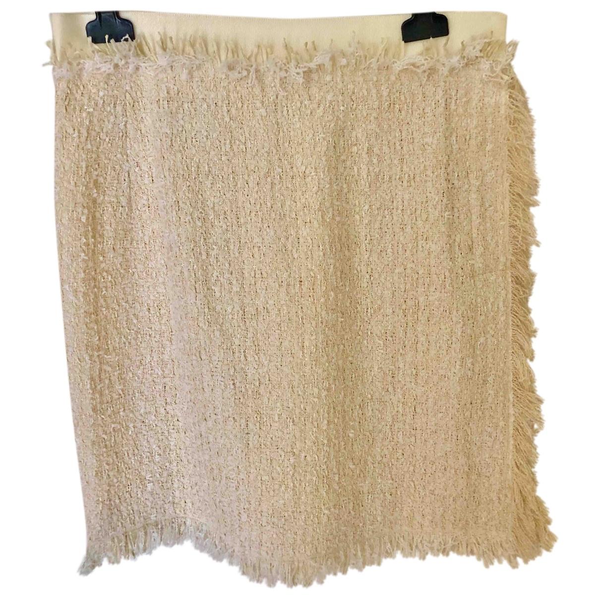 Lanvin \N White Cotton skirt for Women 36 FR