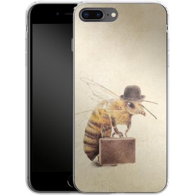 Apple iPhone 7 Plus Silikon Handyhuelle - Worker Bee von Eric Fan
