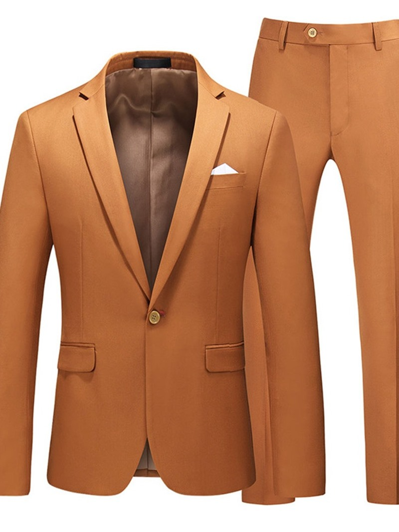 Ericdress One Button Formal Pants Dress Suit