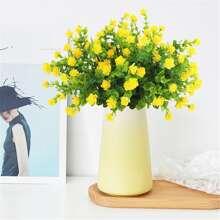 1 Strauss kuenstliche Blumen mit 7 Zweigen