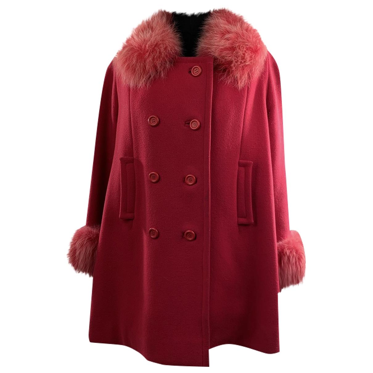 - Manteau   pour homme en laine - rose