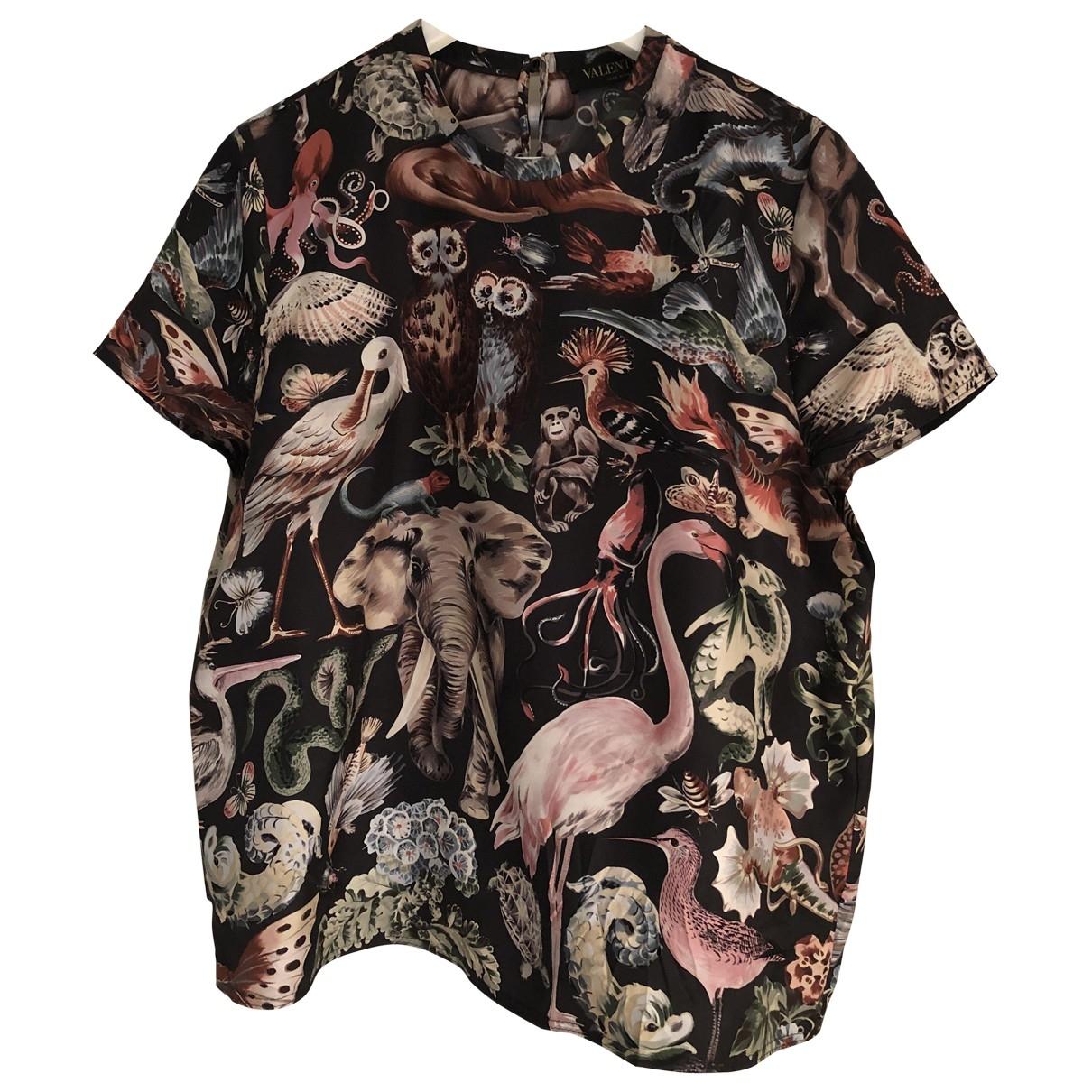 Camiseta de Seda Valentino Garavani