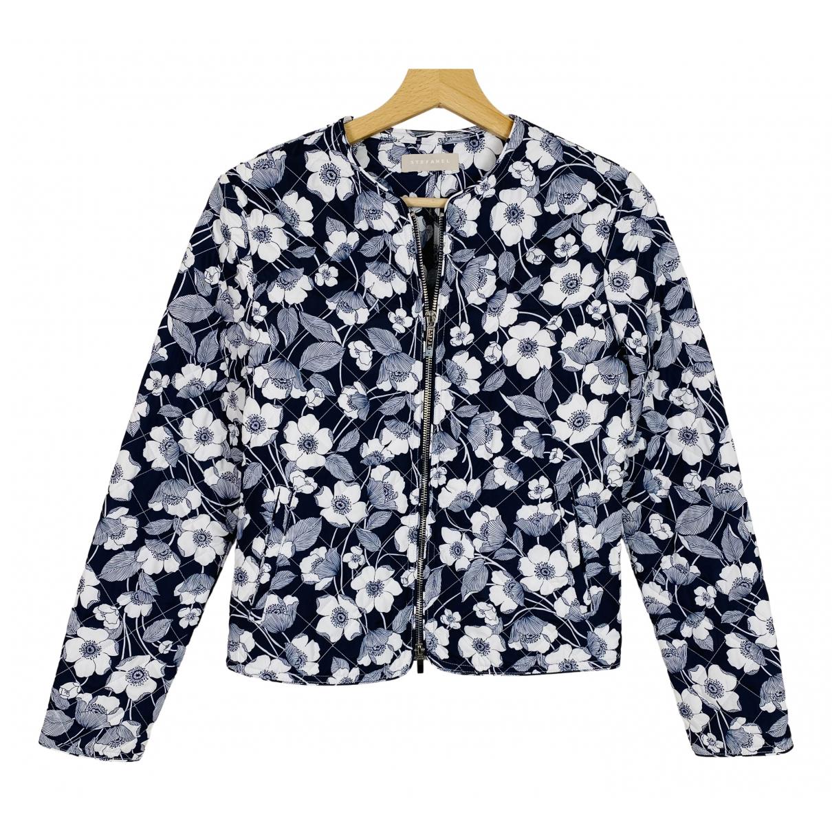 Stefanel N Blue jacket for Women 38 IT
