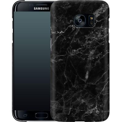 Samsung Galaxy S7 Edge Smartphone Huelle - Midnight Marble von caseable Designs