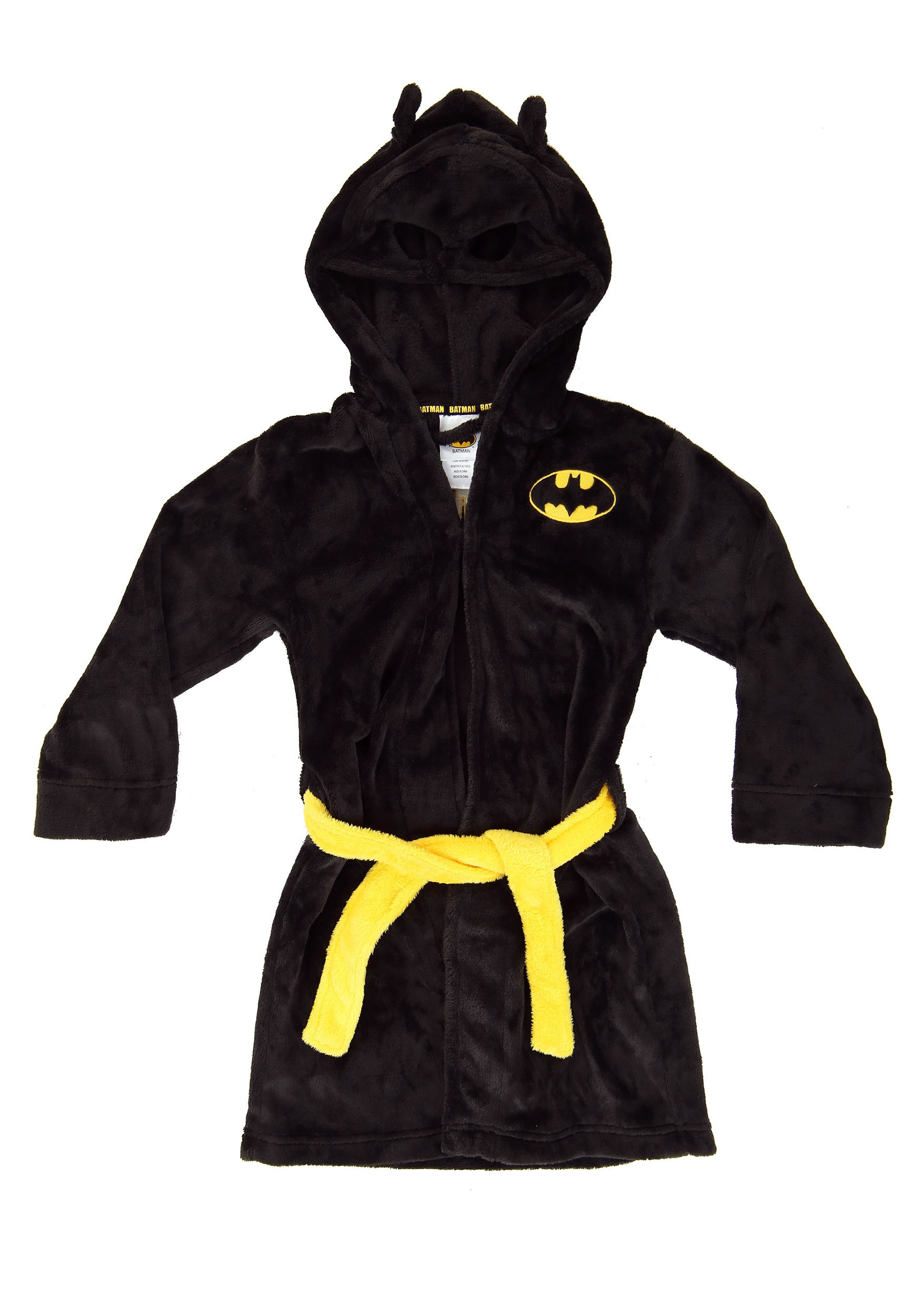 Batman Black Bathrobe for Boys