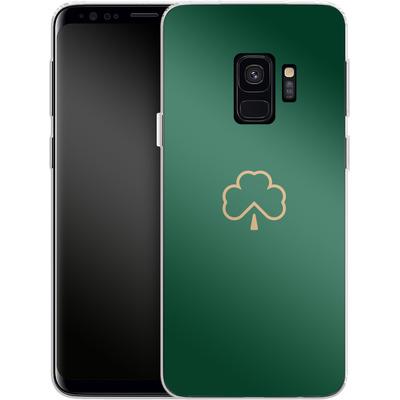Samsung Galaxy S9 Silikon Handyhuelle - Shamrock von caseable Designs