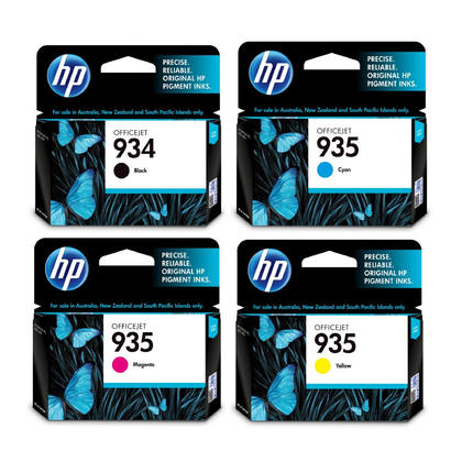 HP 934 935 Original Ink Cartridge Combo BK/C/M/Y