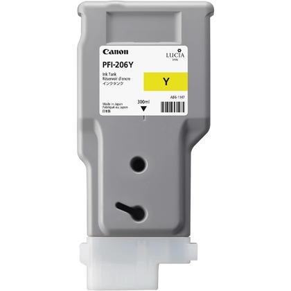 Canon PFI-206Y 5306B001AA Original Yellow Ink Cartridge