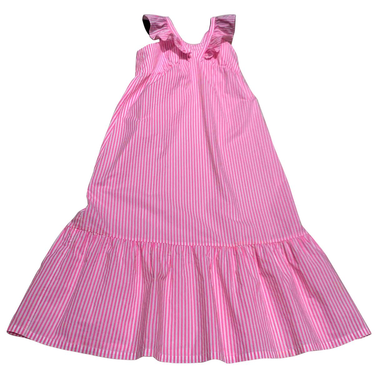 Scotch & Soda - Robe    pour enfant en coton - rose