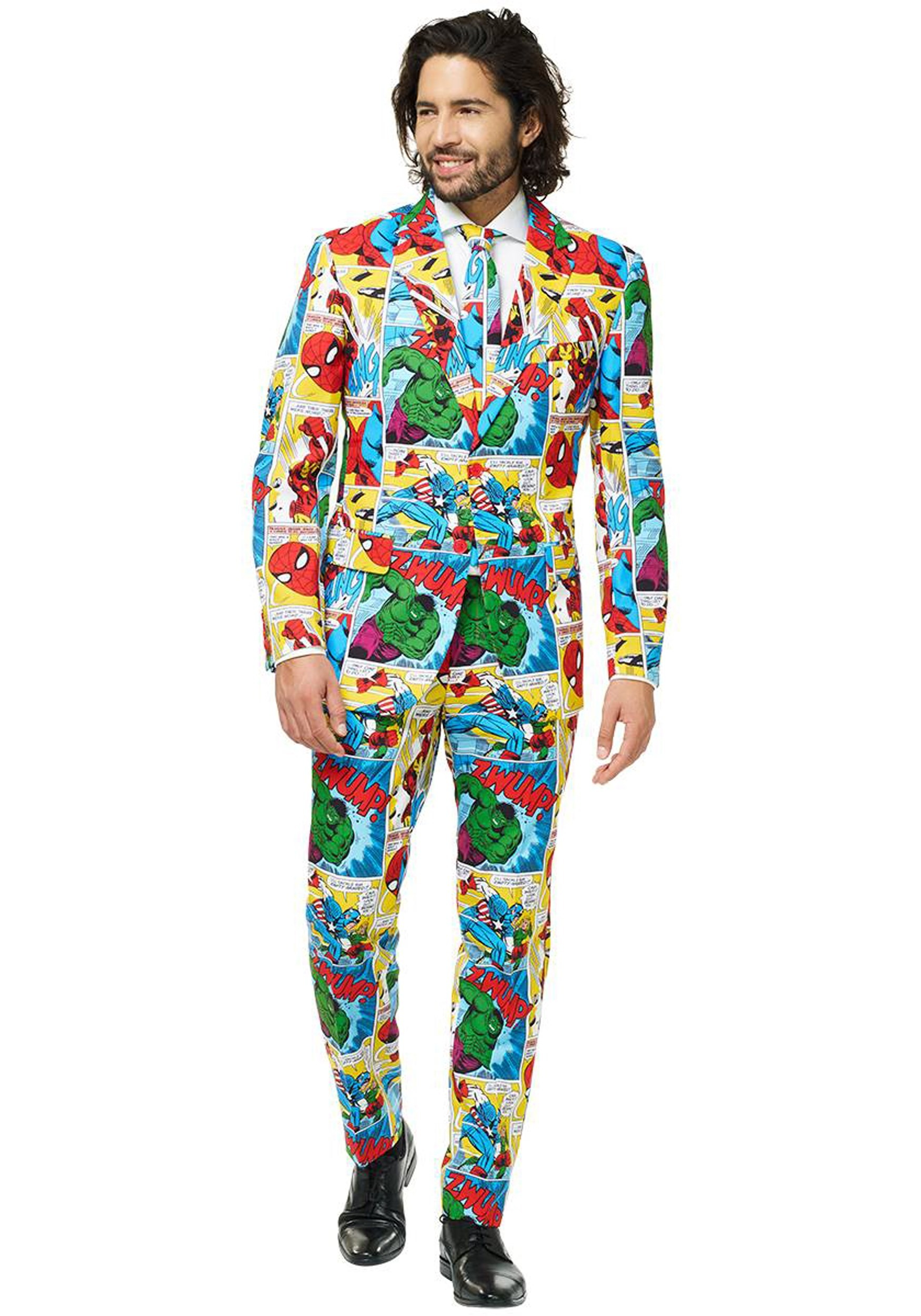 OppoSuits Men's Marvel Comics Suit