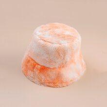 Tie Dye Fluffy Bucket Hat