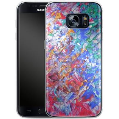 Samsung Galaxy S7 Silikon Handyhuelle - Macro 6 von Gela Behrmann