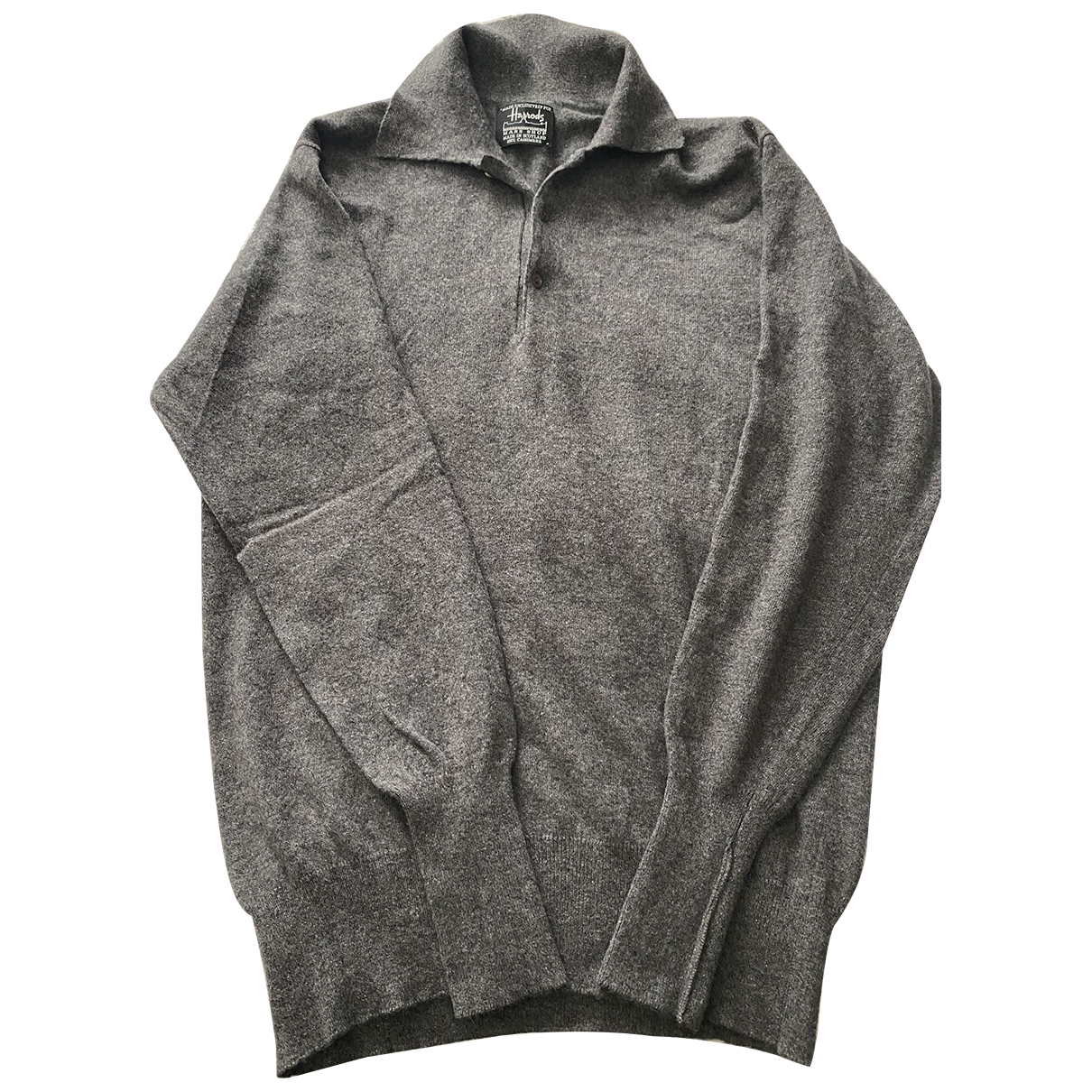 Harrods \N Grey Cashmere Knitwear & Sweatshirts for Men M International