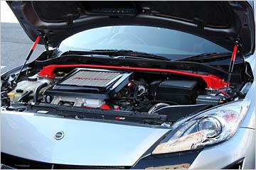 AutoExe Bonnet Damper 03 Mazda 3 10-13