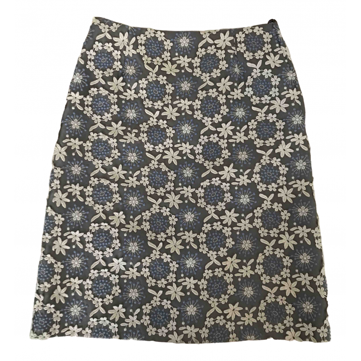 Prada \N Anthracite skirt for Women 38 IT