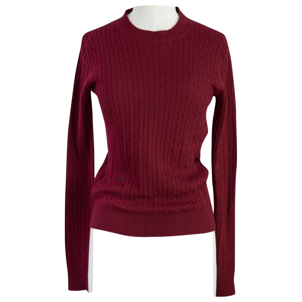 Dior \N Pullover in  Rot Kaschmir