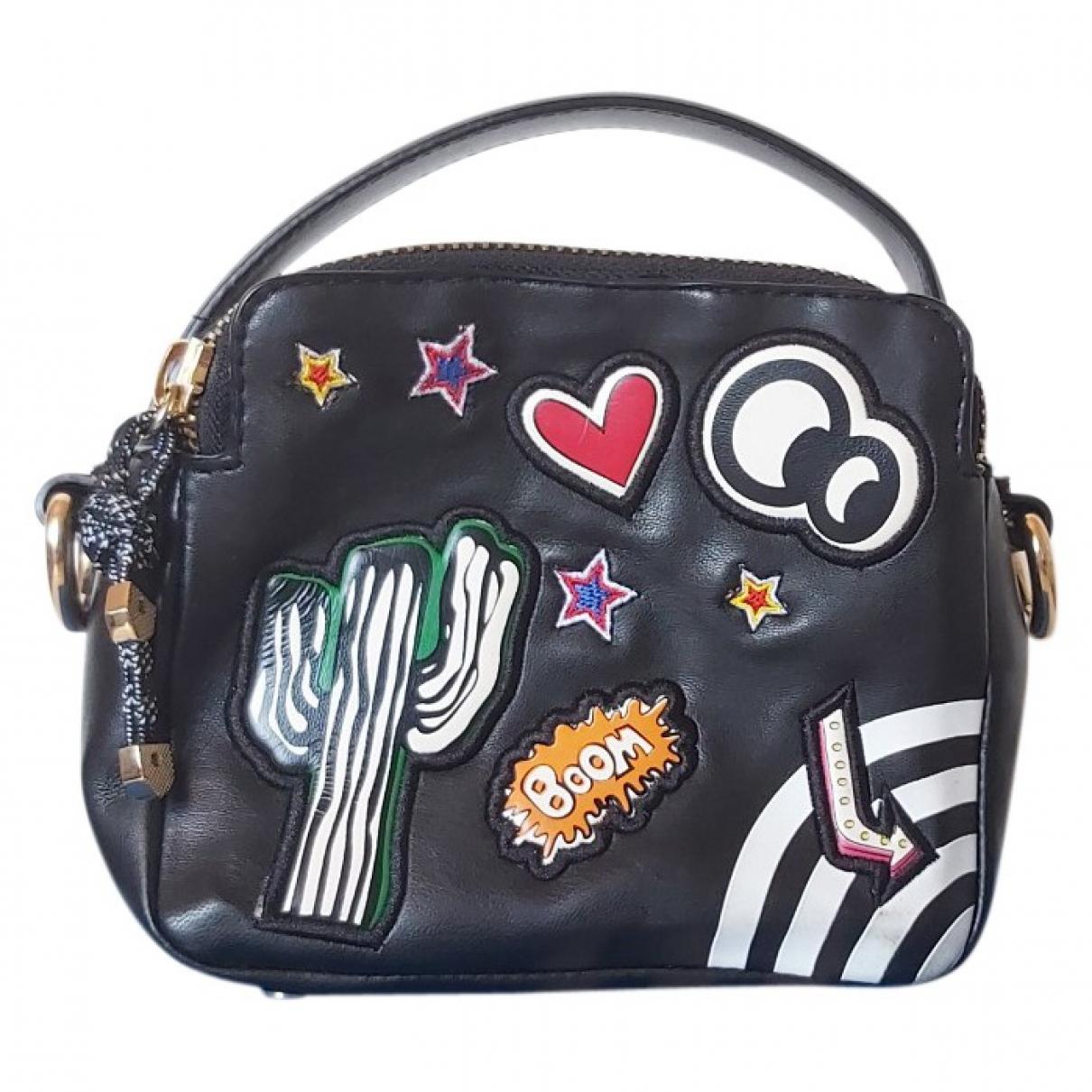 Zara \N Handtasche in  Schwarz Polyester