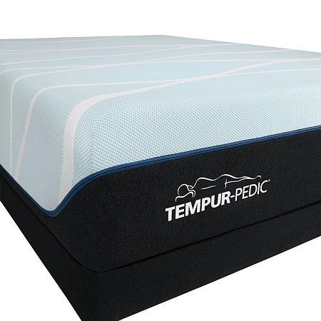 TEMPUR-Pedic LuxeBreeze Soft - Mattress + Box Spring, One Size , White