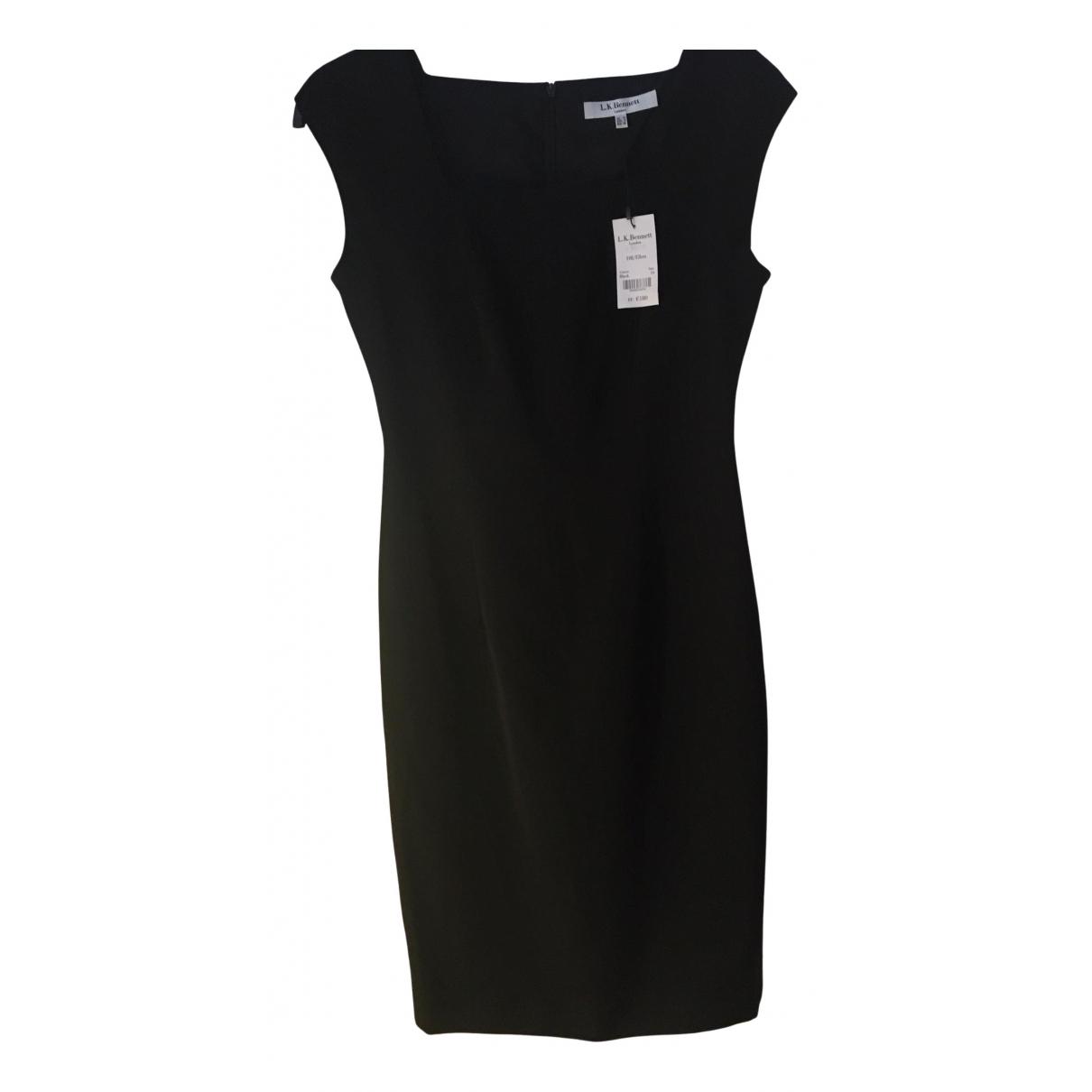 Lk Bennett - Robe   pour femme en laine - noir