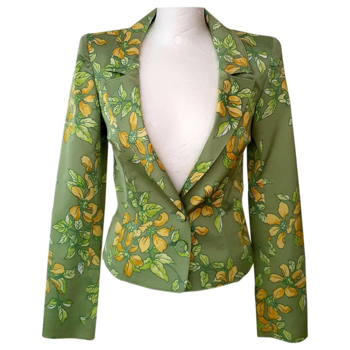 Valentino Garavani - Veste   pour femme en coton - vert