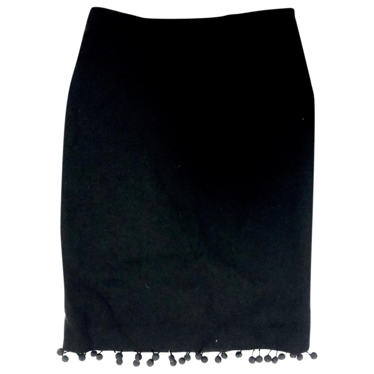 Prada \N Black Wool skirt for Women 44 IT