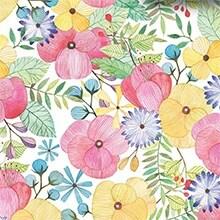 Watercolor Petal Premium Tissue Paper - 20 X 30 - Quantity: 240 by Paper Mart