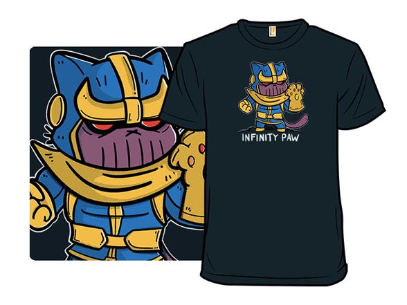 Infinity Paw T Shirt