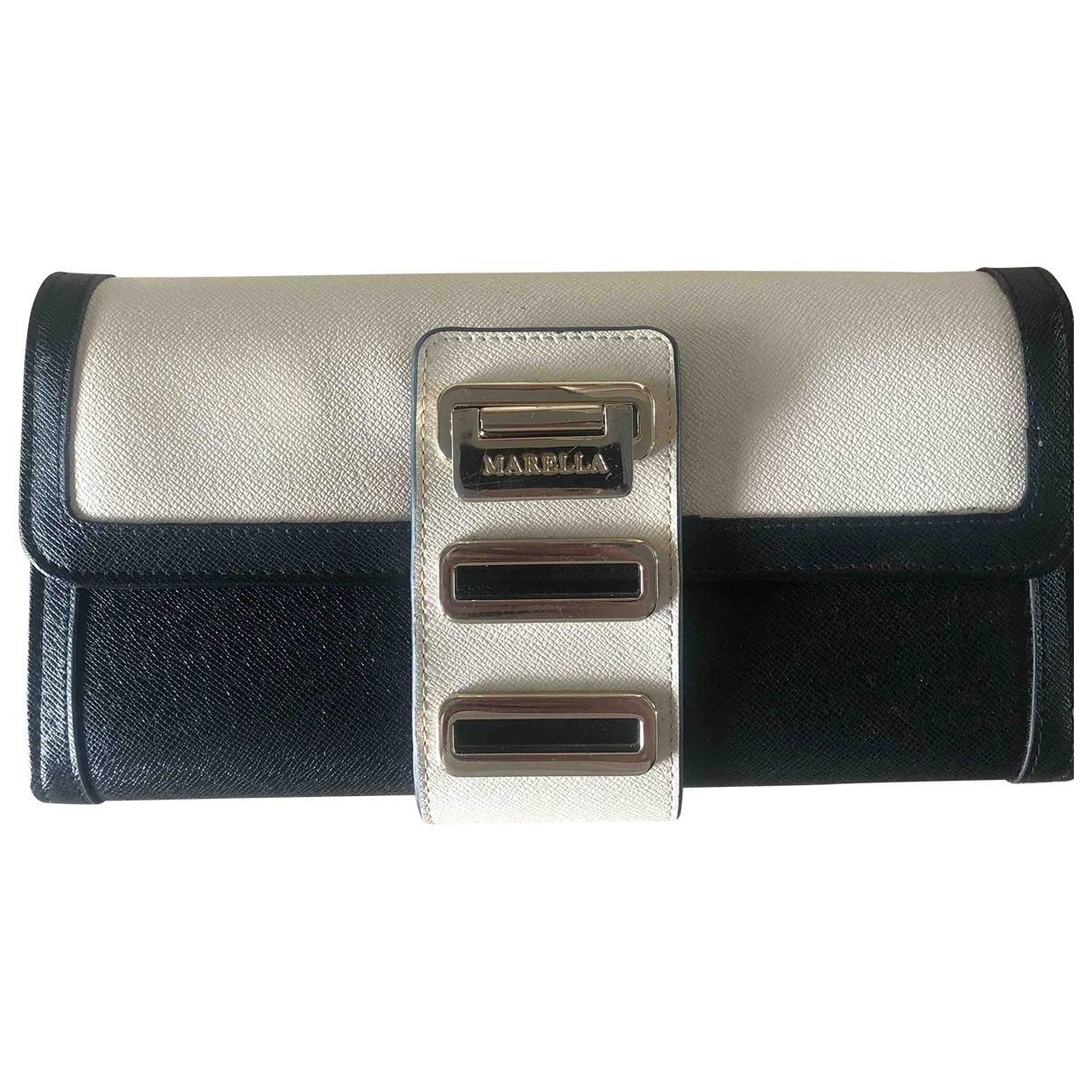 Marella \N Black Leather Clutch bag for Women \N