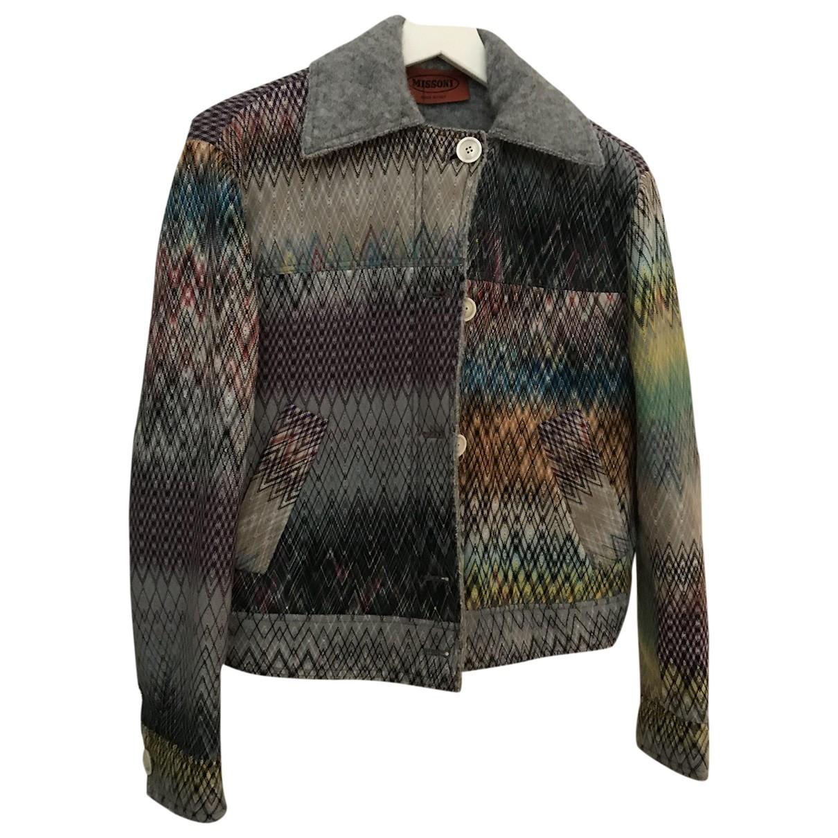 Missoni \N Multicolour Cotton jacket for Women S International