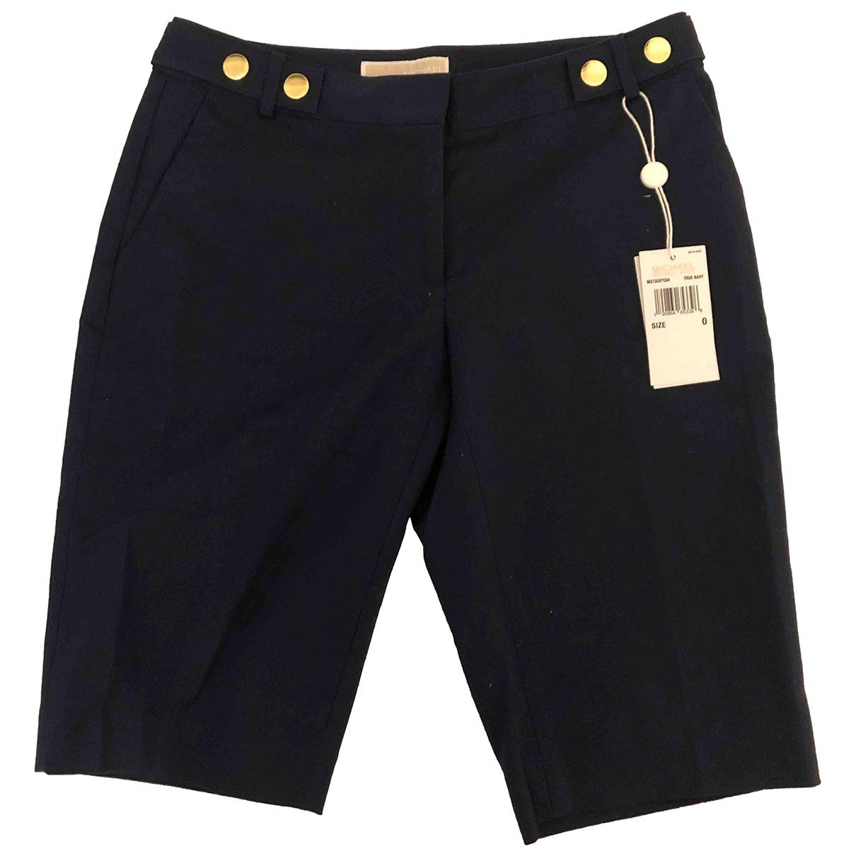 Michael Kors \N Shorts in  Blau Baumwolle - Elasthan