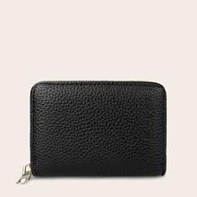 Zip Around Purse With Card Holder
