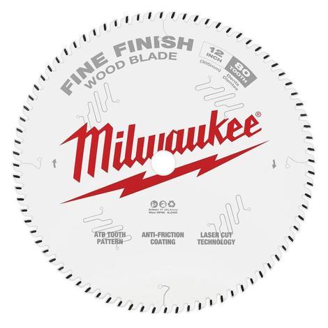 Milwaukee 12 in. 80T Fine Finish Circular Saw Blade