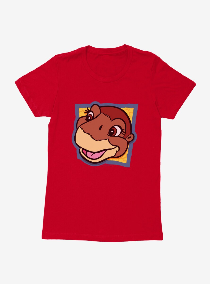 The Land Before Time Littlefoot Square Womens T-Shirt