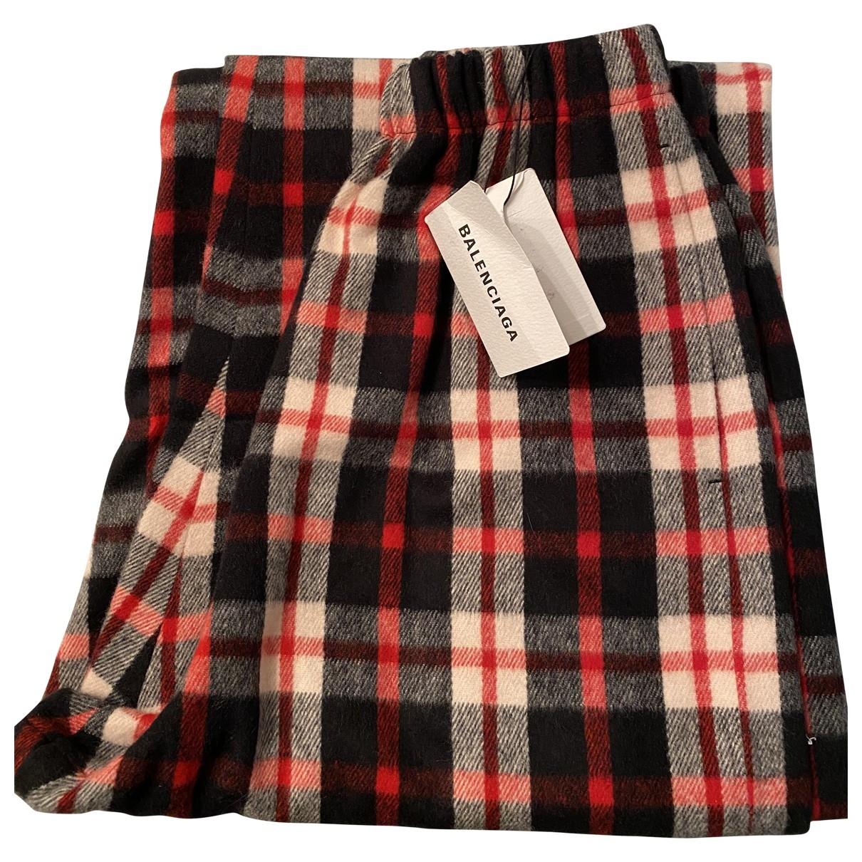 Balenciaga - Pantalon   pour femme en coton - multicolore