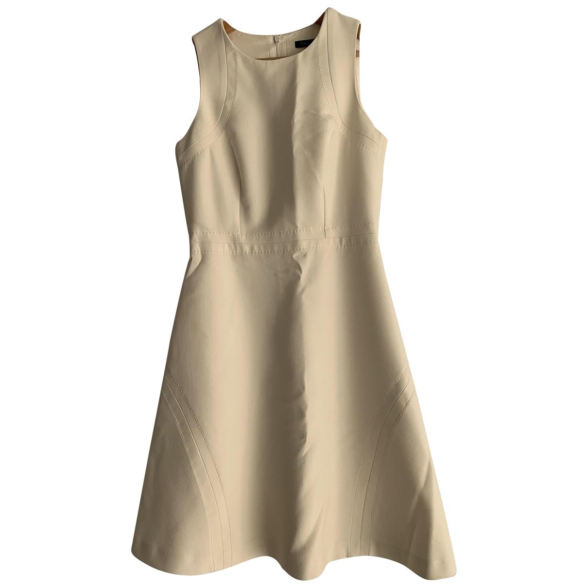 Tara Jarmon \N Kleid in  Weiss Polyester