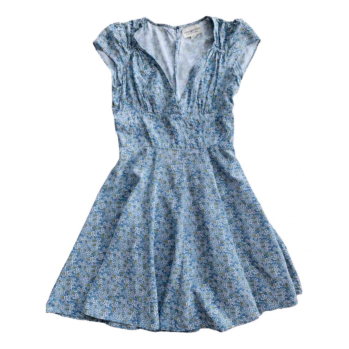Ralph Lauren - Robe   pour femme en coton - bleu