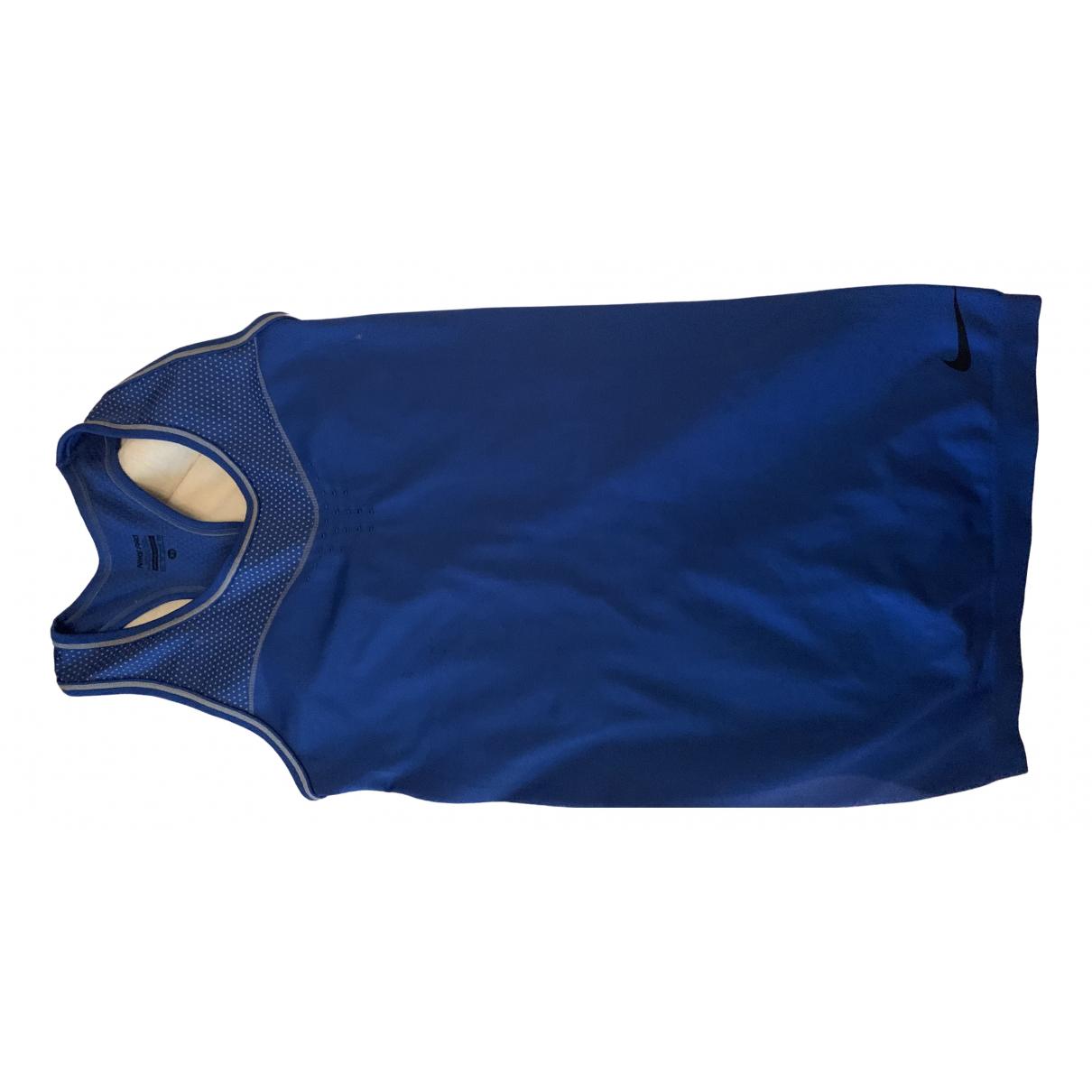 Nike - Top   pour femme - bleu