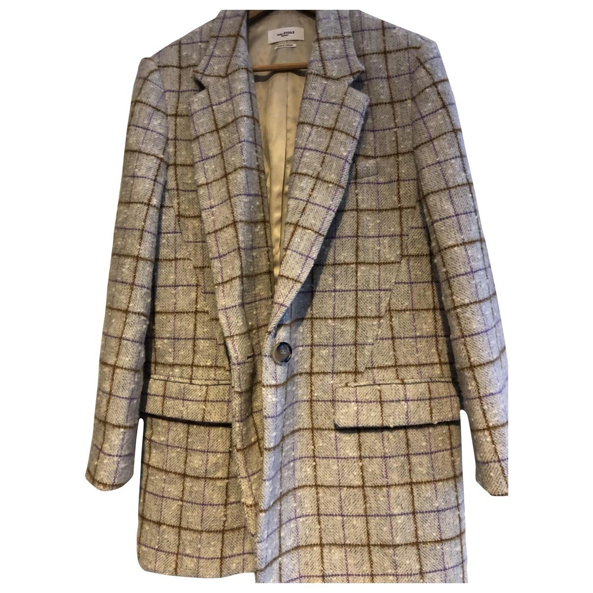 Isabel Marant Etoile \N Beige Wool coat for Women 38 FR