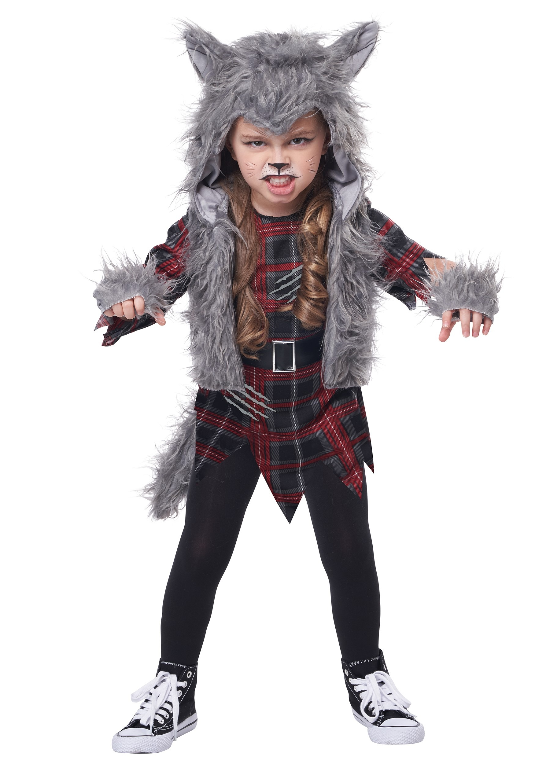Wee-Wolf Girl's Costume