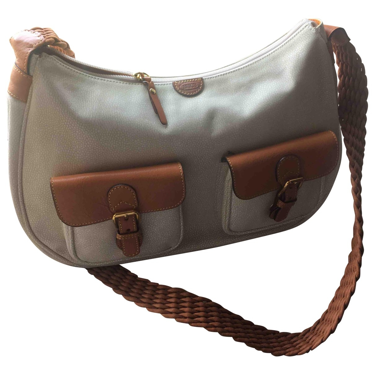 Bric's \N Beige Cloth handbag for Women \N