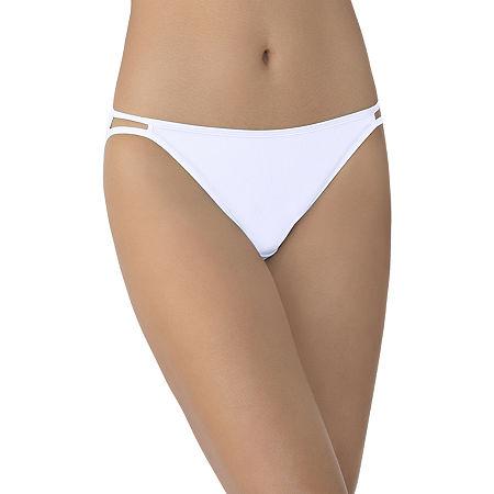 Vanity Fair Illumination Bikini Panty 0018108, 8 , White