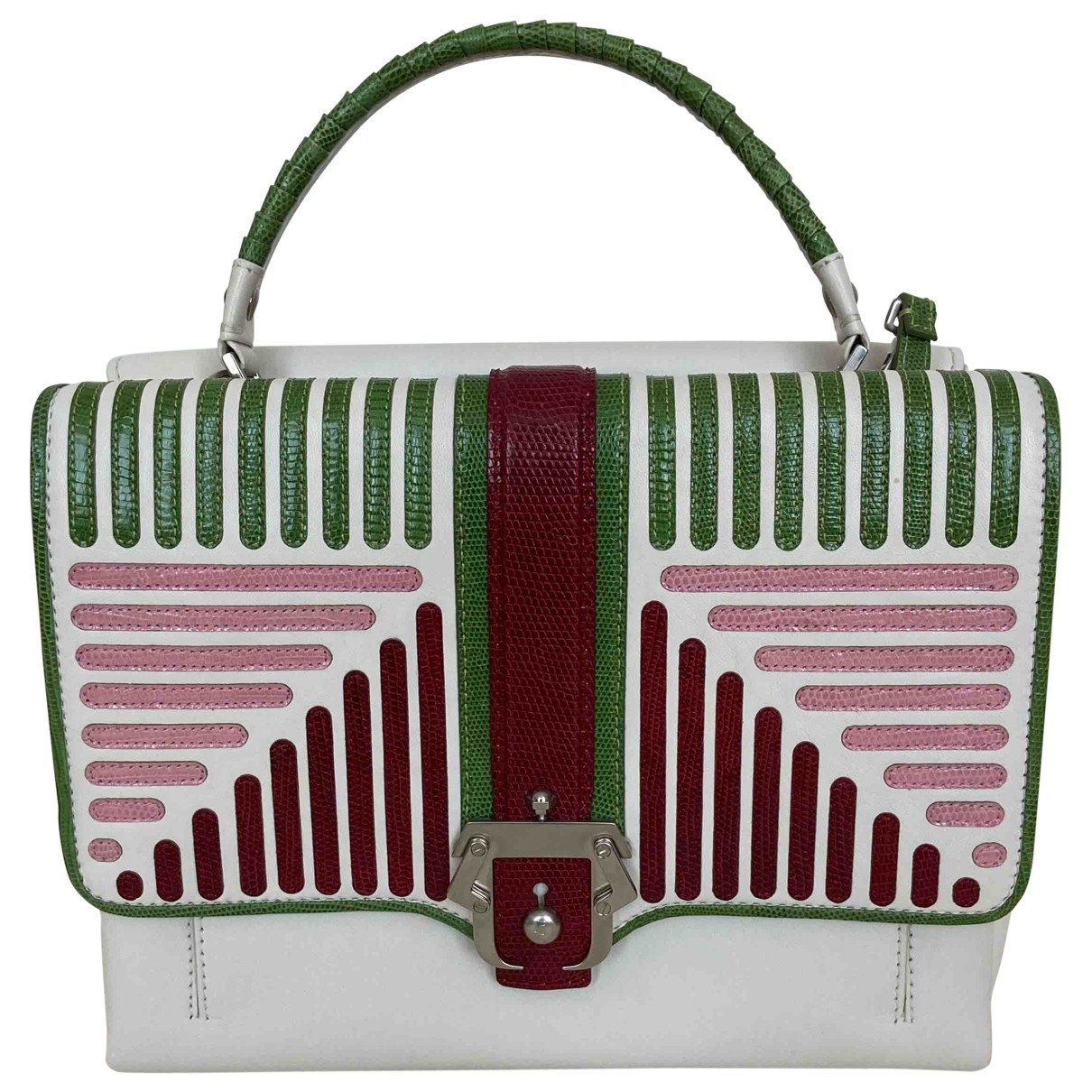 Paula Cademartori \N Multicolour Leather handbag for Women \N
